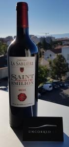 Château La Sablière - Saint Émilion Grand Cru 2013
