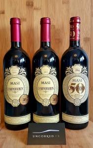 Vertical tasting - Masi – Campofiorin 2012, 2013, 2014